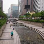 韓国夏旅その2 「清渓川(チョンゲチョン)を羨みまくる」